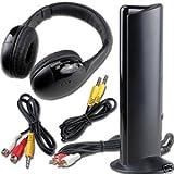 Akai CW04 Cuffie Senza Filo Radio FM 5 funzioni: Amazon.it