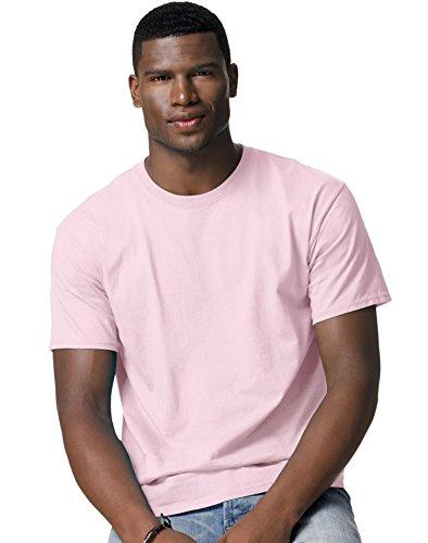 hanes-tagless-maglietta-da-uomo-best-seller-5250-2-x-l-colore-rosa-pallido