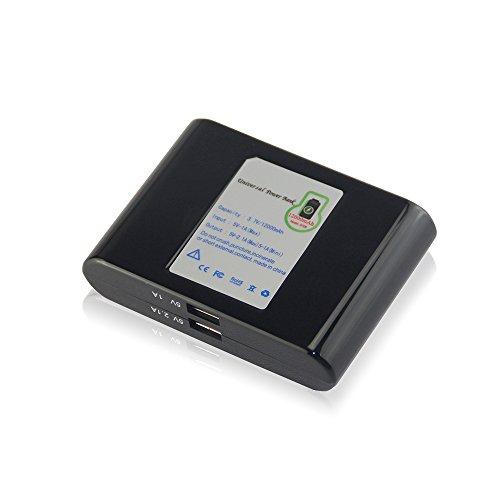 Sisgad 50000 mah energienbank externe batterie tragbare ladegerät für iphone 7 6 6 s plus und ipad, samsung s6 und galaxy, die meisten anderen telefon und Tablet (12000, schwarz) (Batterie-backup-50000)