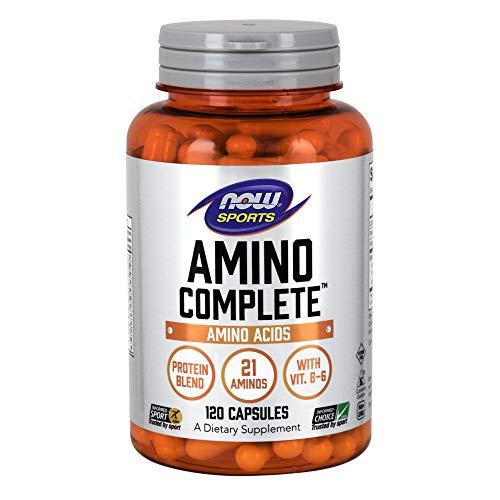 Now Foods I Amino Complete I Proteine und Freiform-Aminosäuren I 120 Kapseln - Complete 120 Kapseln
