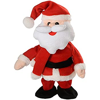 6 ft singing and dancing santa claus 182 cm tall father for 4 foot santa claus decoration