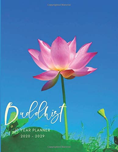 2020-2029 10 Ten Year Planner Monthly Calendar Buddhist Karma Goals Agenda Schedule Organizer: 120 Months Calendar; Appointment Diary Journal With ... Notes, Julian Dates & Inspirational Quotes
