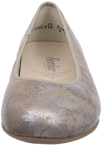 Semler Nancy, Ballerines Fermé femme beige (028 panna)