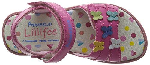 Prinzessin Lillifee 410371, Sandales ouvertes fille Rose - Rose