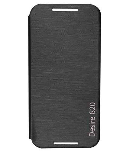 BRYNN Flip Cover For Htc Desire 820 - Black  available at amazon for Rs.149