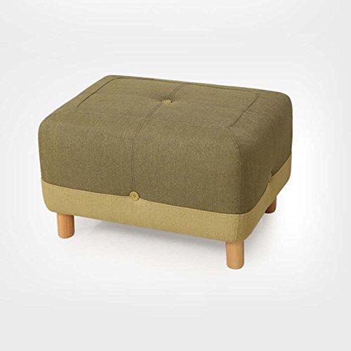 Moderne Bettrahmen (Schuhhocker wechseln Modernes einfaches europäisches Massivholz Sofa Hocker Tuch tragen Schuhe geheimnisvolle Stuhl Bettrahmen (Farbe optional) ( Farbe : 5 ))