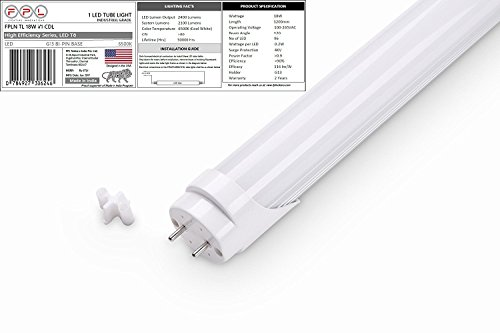 FPL Nokero 18W, 4ft. LED Tube Light T8, Pack of 1, Cool Day Light, Made in India, Ultra-Durable, 9 years life.  available at amazon for Rs.399