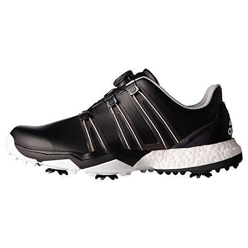 huge discount 855a4 d39c4 Adidas Powerband Boa Boost WD Zapatos de Golf, Hombre, (NegroBlanco)