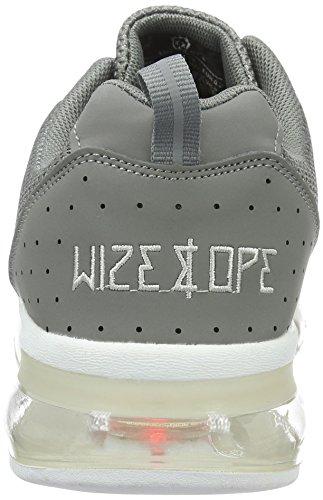 Wize & Ope Xrun, Baskets Basses Mixte Adulte Gris - Grau (Grey 5)