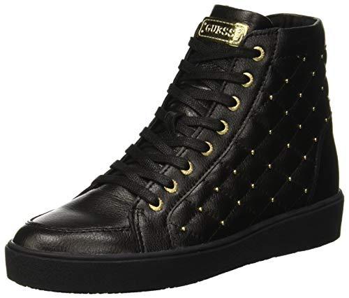 Guess grace, sneaker a collo alto donna, nero black, 39 eu