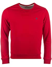 Sweat � col rond Timberland Westfield River pour homme en rouge
