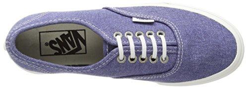 Vans U Authentic Slim Sneaker, Unisex Adulto Blu (Stripes Washed/Navy)