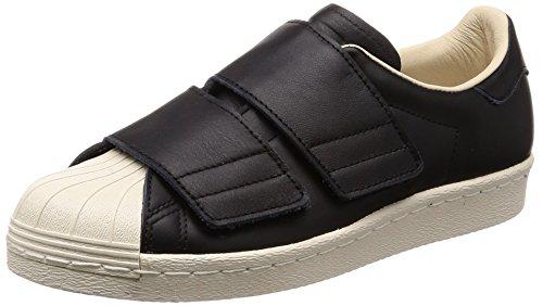 adidas Damen Superstar 80s CF Gymnastikschuhe, Schwarz core Black/Linen S17, 38 EU