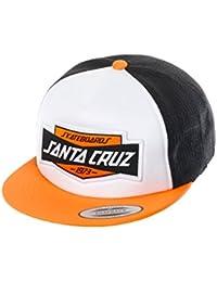 Casquette Santa Cruz: Cap Tread Trucker WH/OR/BK