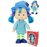 Strawberry Shortcake 6 Inch Doll - CLASSIC BLUEBERRY MUFFIN - Reproductions Of The Original 1980s Dolls!