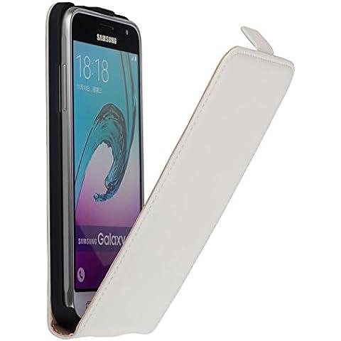 Yayago para Samsung galaxia J3 con crema-blanco