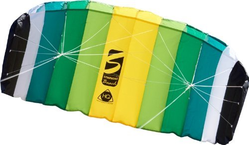 HQ Symphony Beach Foil Kite Lime 1.7