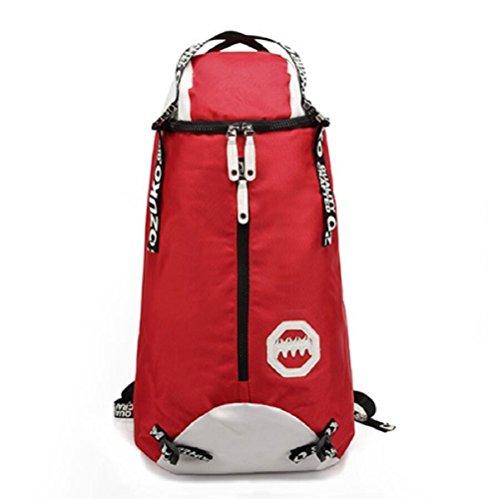 Z&N Wasserdichtes Oxford Tuch modische männliche Tasche kreative Outdoor Bergsteigen Tasche Freizeit Reise Rucksack große Kapazität Laptop Rucksack Schule Sport Rucksack B