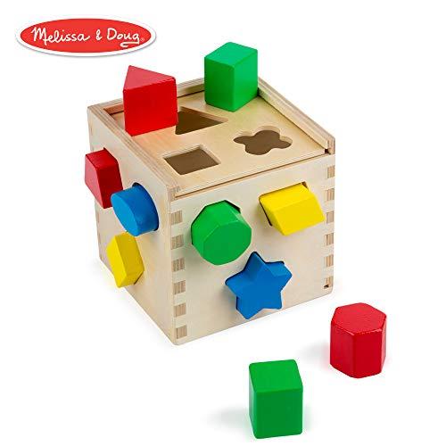 Melissa & Doug - 10575 - Cube De Tri De Formes