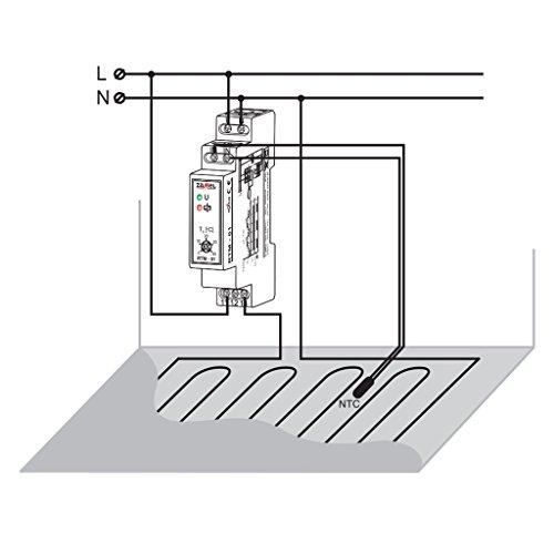 EXTA Temperaturregler, 1 Stück, RTM- 01 - 4