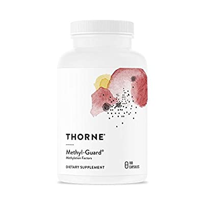 Thorne Research - Methyl-Guard - Methylation Support Supplement with Folate and Vitamin B12 - 180 Capsules by Thorne Research