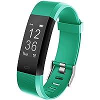 Fitness Armband YG3 Plus Aktivitätstracker Point Touch Smart Bracelet Pulsmesser Kalorienzähler Schrittzähler Schlafmonitor Wasserdicht IP67 Sport Armband SMS Anrufe Reminder für iOS und Android