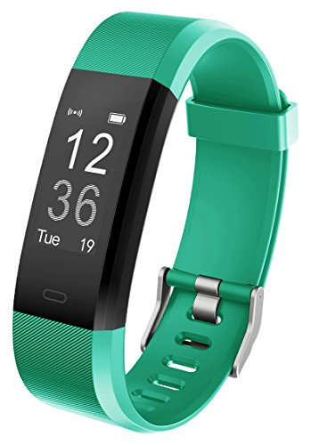 """Fitness - Tracker mit Puls & Sleep Überwachung, Yuanguo Sport Smart Armband """"ip67"""" wasserdicht, tragbarer Activity Tracker mit Kalorienverbrauch-/ und Distanzanzeige sowie Maßnahmen - (Grün)"""
