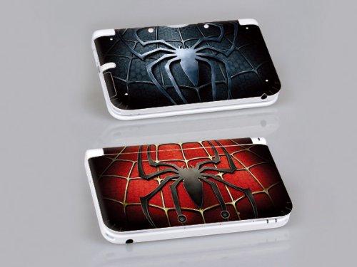 Nintendo 3DS XL SPIDER-MAN Protective Vinyl Skin Decal Set (3ds Nintendo Spiderman)