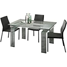 Amazon.it: tavolo allungabile vetro - Emporio3