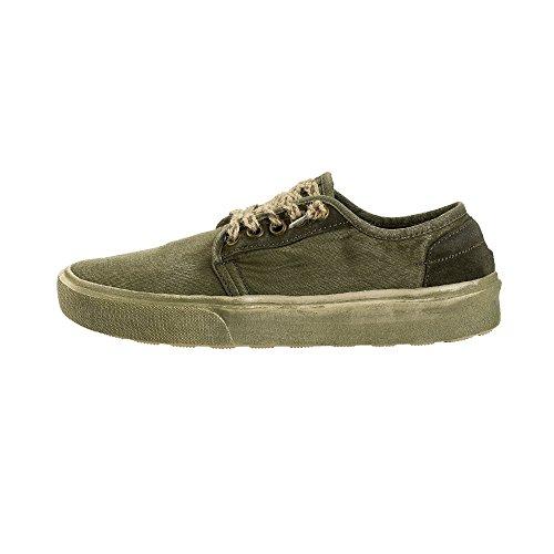 Dude Shoes Herren Buster Gewaschen Salbei UK10/EU44