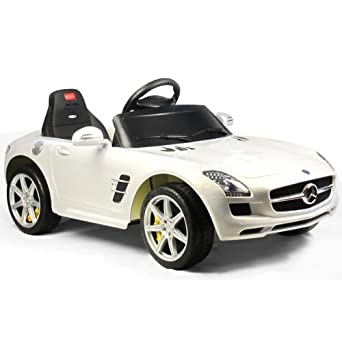 mercedes benz sls electric 6v kids ride in sports car