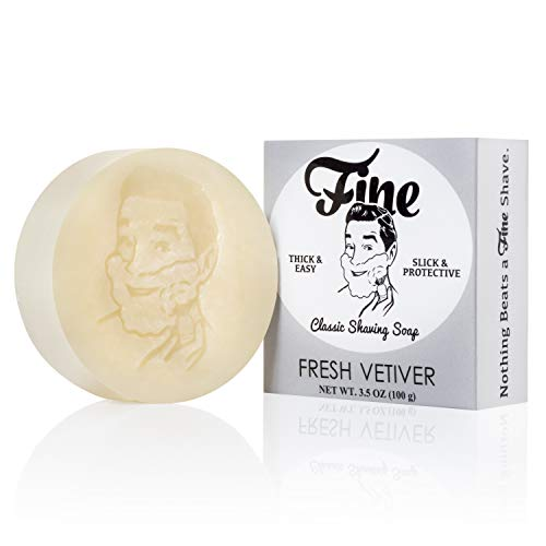FINE SHAVING SOAP FRESH VETIVER 100g