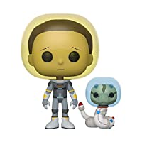 Funko- Pop Animation: Rick & Morty-Space Suit Morty w/Snake Rick and Collecti...