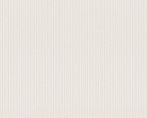 Architects Paper Vliestapete AP 2000 Design by F.A. Porsche Tapete Stripe Streifentapete 10,05 m x 0,53 m beige creme metallic Made in Germany 885418 8854-18