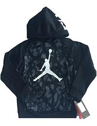 Nike Air Jordan Boy  s Pull Over térmico Fit Sudadera con Capucha 7488d2688e30f