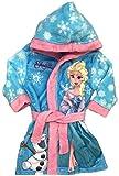 Frozen Eiskönigin Bademantel Kimono Gürtel Kapuze Morgenmantel blau (122)