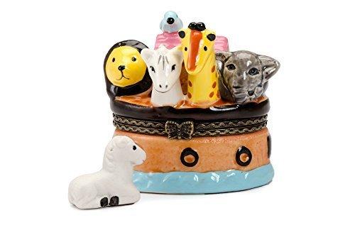 Noah's Noahs Ark Animals Elephant Trinket Box phb by Art Gifts (Animal Ark-box)