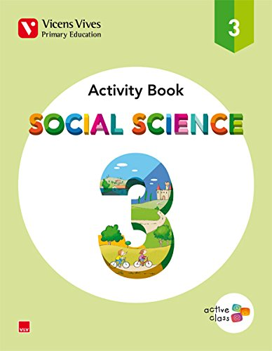 SOCIAL SCIENCE 3 ACTIVITY BOOK (ACTIVE CLASS): 000001 - 9788468216195