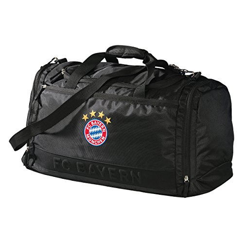 FC Bayern Sporttasche 'Black Logo' 20324