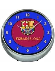 Nouveau officiel du FC Barcelone Bleu Aluminium Réveil tableau