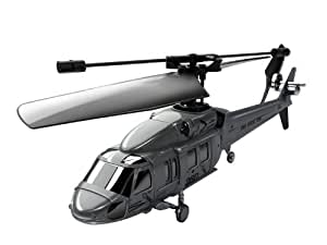 Silverlit Black Hawk 2.4GHz 3-Channel Radio Control Gyro Helicopter (Assorted Colours)