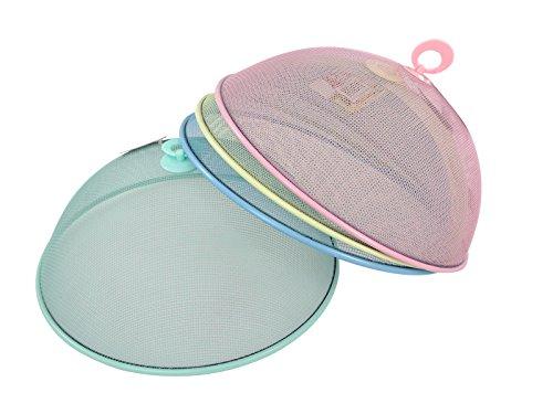 bunter-fliegenschutz-insektenschutz-abdeckhaube-abdeckkuppel-gitter-tragegriff-mint