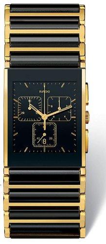 Rado Integral de cerámica negro reloj de los hombres R20851162