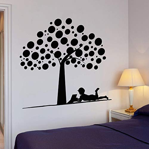 woyaofal Wandaufkleber Baum Für Kinderzimmer Abnehmbare Vinyl Kunst Aufkleber Tapete Wandtattoos Schlafzimmer Wohnkultur wasserdichte Wandbild Z 57X64 cm