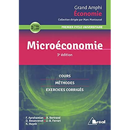 Microéconomie : Premier cycle universitaire