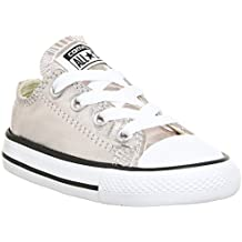 Converse Chuck Taylor All Star Ox Rose Quartz Textile Baby Trainers