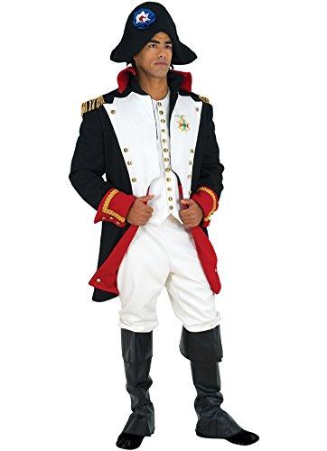 Napoleonkostüm, Erwachsene Luxury Größe: - Französische Halloween Revolution
