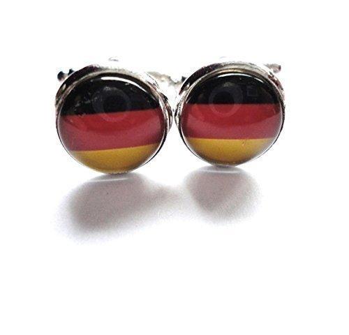 Manschettenknöpfe Accessoires Deutschland Flagge Hochzeit Feier Anlässe