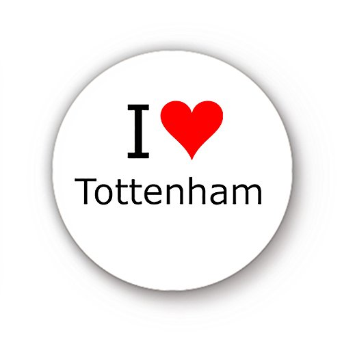 I-Love-Tottenham-Badge-1inch-25mm-Button-Pin-Badge
