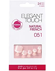 Elegant Touch Natural French Ongles d'Orteil 051